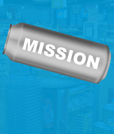 mission beer can