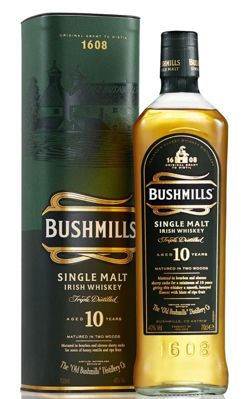 Bushmills 10y Irish Whiskey