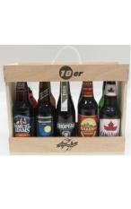 DOTW Holzkiste 10er Bier gefüllt