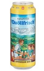 Appenzeller Quöllfrisch Naturtrüb 50cl Dose