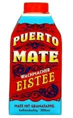 Puerto Mate Eistee Granatapfel