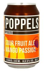 Poppels Mango Passion Sour Fruit Ale
