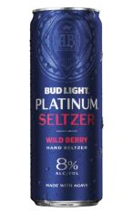 Bud light Platinum Seltzer Wild Berry