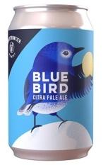 White Frontier Bluebird