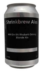 Shrinkbrew #64 Gin BA Rhubarb Oolong Ale