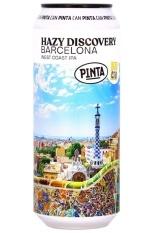 PINTA Hazy Discovery Barcelona IPA